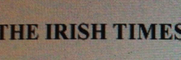 THE IRISH TIMES      10/2013