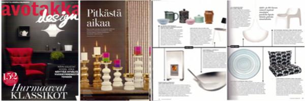 Avotakka Design-numero 2013
